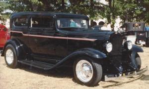 Chevrolet sedan with Progressive Automotive IFS.