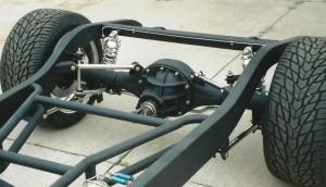 Progressive Automotive 1931-32 Chevrolet car/1931-33 1/2 ton truck frame with Triangulated 4-bar.