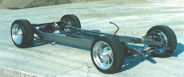Frame Chassis 1933 Chevy Master Car Hot Street Rod