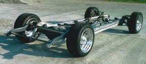 Progressive Automotive 1933 Chevy Master chassis with optional parts