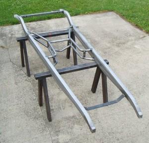 Example of Progressive Automotive bare 1931-32 Chevrolet car/1931-33 truck frame.