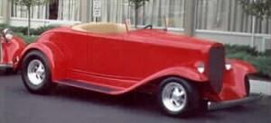 1932 Chevrolet roadster with Progressive Automotive chassis.