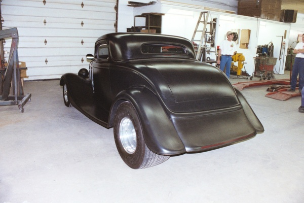 1934 Ford featuring Progressive Automotive custom chassis