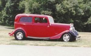 1933 Ford featuring Progressive Automotive chassis