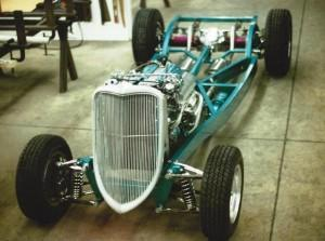 Progressive Automotive 1933-34 Ford chassis with Kugel Komponents IFS and optional parts