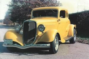 1934 Ford featuring Progressive Automotive chassis