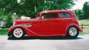 1934-35 Chevrolet Standard featuring Progressive Automotive chassis