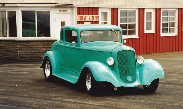 1934 Plymouth featuring Progressive Automotive parts