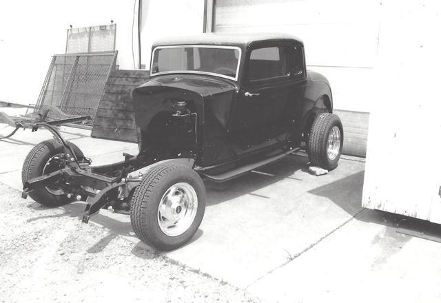 Frame Chassis 1934 Plymouth car Hot Street Rod