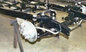 Progressive Automotive 1935-40 car/1935-41 truck chassis with Tubular IFS and optional parts