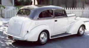 1937 Chevrolet sedan featuring Progressive Automotive parts