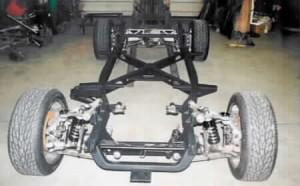 Progressive Automotive 1953-62 Corvette chassis with C4 Corvette suspension & optional parts