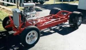 Progressive Automotive 1934-35 Chevrolet Standard chassis with optional parts