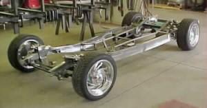 Progressive Automotive 1937-39 Chevrolet chassis with C4 Corvette suspension & optional parts