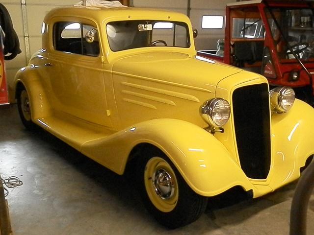 1934 Chevrolet Master sedan featuring Progressive Automotive parts