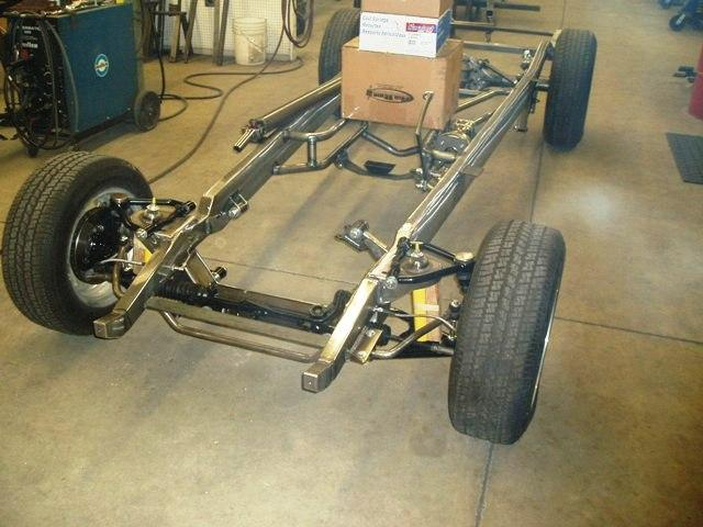 1988 Chevy Pickup Frame Chassis 1937 1938 1939 1940 Chevy Truck Hot Street Rod