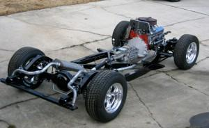 Progressive Automotive 1953-62 Corvette chassis with Triangulated 4-bar and optional parts