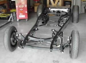 Progressive Automotive 1932 Ford chassis with optional parts