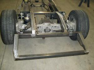 Progressive Automotive 1935-40 car/1935-41 truck chassis with C4 Corvette IRS & Ride Tech HQ ShockWaves