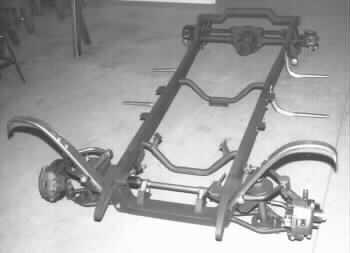 ford model a chassis dimensions