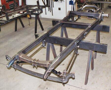 Frame Chassis 1928, 1929, 1930, 1931 Model A Ford Car Truck Hot ...