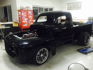 Featuring Progressive Automotive 1948-52 Ford custom RHD truck chassis