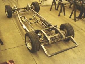 Progressive Automotive 1935-40 car/1935-41 truck chassis with C4 Corvette suspension & optional parts