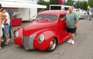 1940 Ford featuring Progressive Automotive chassis