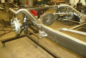 Progressive Automotive 1937-39 Chevrolet chassis with Triangulated 4-bar