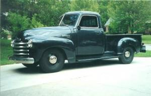 Progressive Automotive 1947-53 Chevy truck chassis, built for stock height