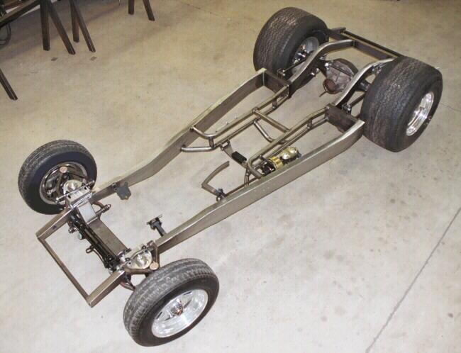 Progressive Automotive 1937-41 Willys chassis