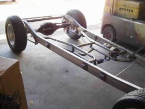Progressive Automotive 1936 Master Chevrolet chassis with Triangulated 4-bar