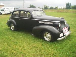 Progressive Automotive custom 1939 Buick IFS installation