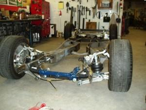 Progressive Automotive custom 1948 Cadillac frame upgrade