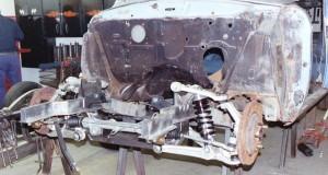 Progressive Automotive custom 1954 Studebaker wagon chassis upgrade