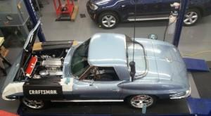Progressive Automotive custom 1963 Corvette frame upgrade