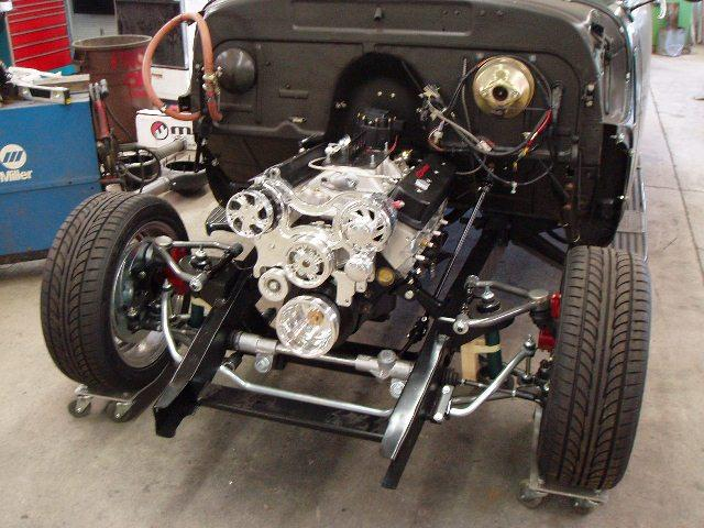 1954 Chevy Truck S10 Frame Swap