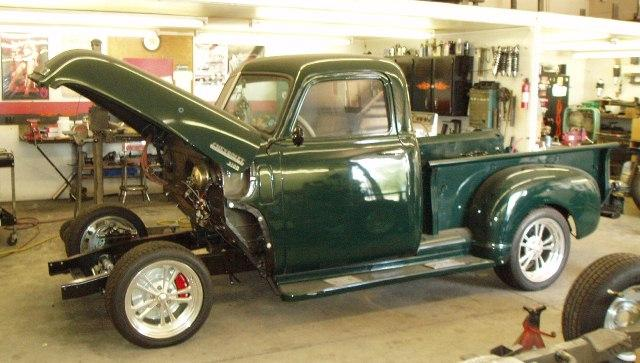 1950 Ford chassis swap