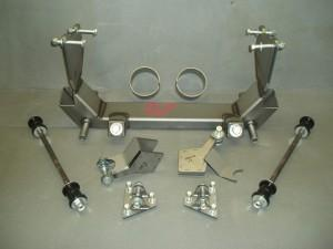 Progressive Automotive VF-35F-84 brackets shown