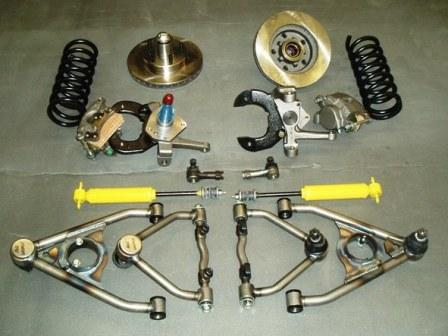 Moving suspension parts for Coil Spring & Shocks style