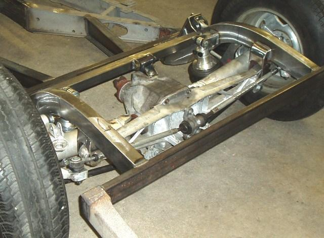 typical c4 rear end