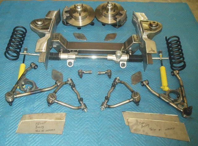 Coil Spring & Shock style shown