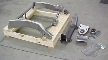 Coil Spring & Shock style IFS brackets & frame sections