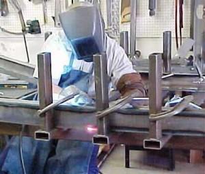 Frame rail welding
