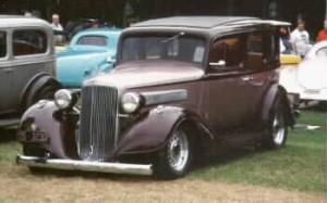 1934 Pontiac with custom built Progressive Automotive IFS