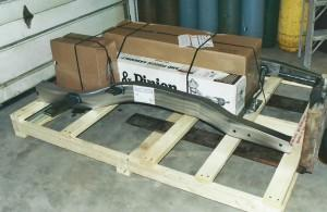 Progressive Automotive VFS-55C-96 ready for LTL shipping