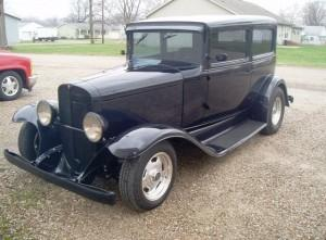 1931 Pontiac with custom built Progressive Automotive IFS