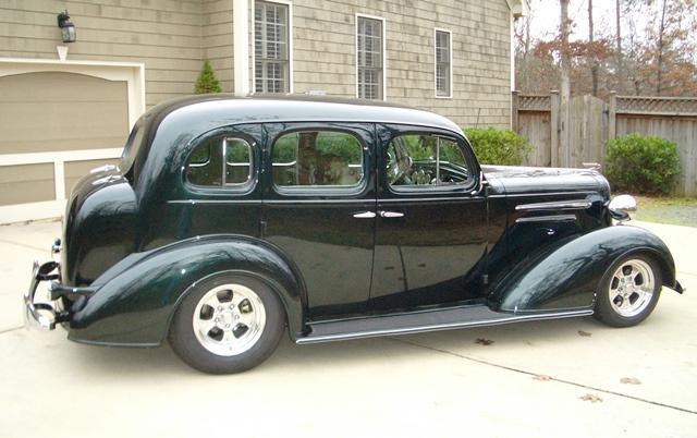 Don's 1936 Chevrolet Master with Progressive Automotive's chassis