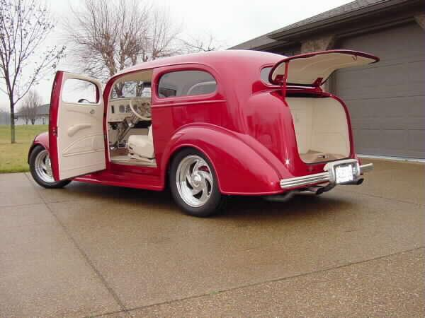 Dale's 1936 Chevrolet Master with Progressive Automotive parts