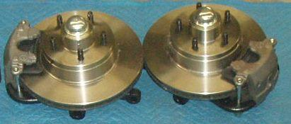 Progressive Automotive standard brakes. Spindles are additional.